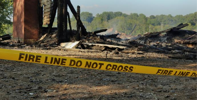 United Methodists can help communities when fire strikes. Stock image by Kathleen Barry, United Methodist Communications.