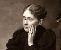 Methodist reformer Frances Willard is seen in portrait. Courtesy of United Methodist General Commission on Archives and History.