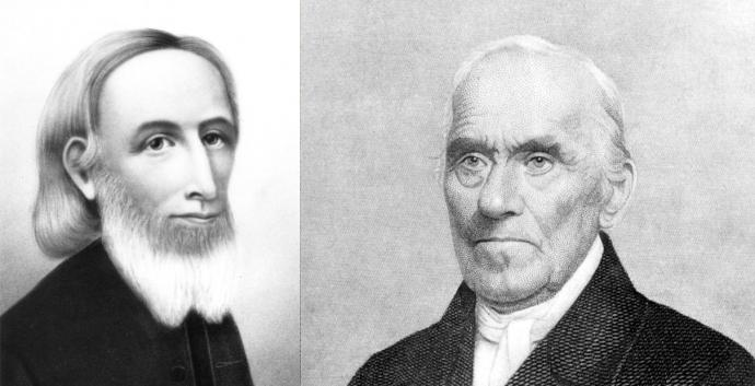The Boehms were contemporaries of the early Methodist movement. Photos courtesy United Methodist Archives and History.