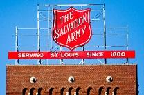 St. Louis Salvation Army sign in a photo by Thomas Hawk, shared via Flickr, Creative Commons