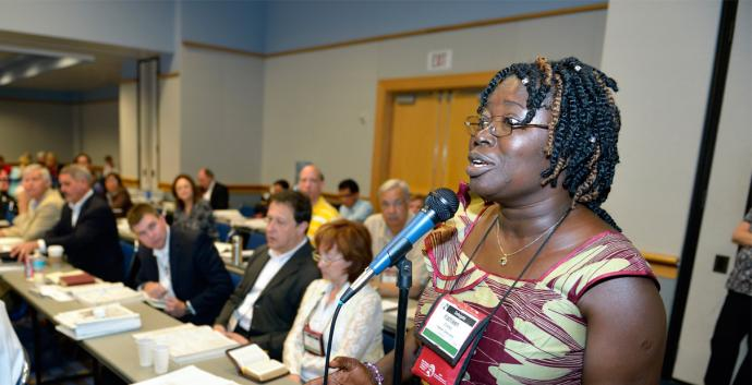 All petitions submitted to General Conference are discussed in legislative committees. File photo by Paul Jeffrey, United Methodist Communications.