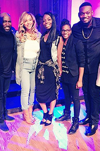 Houston native Beyonce teamed with with her pastor and church members at St. John's UMC to help survivors of Hurricane Harvey. Image courtesy of Texas Annual Conference.