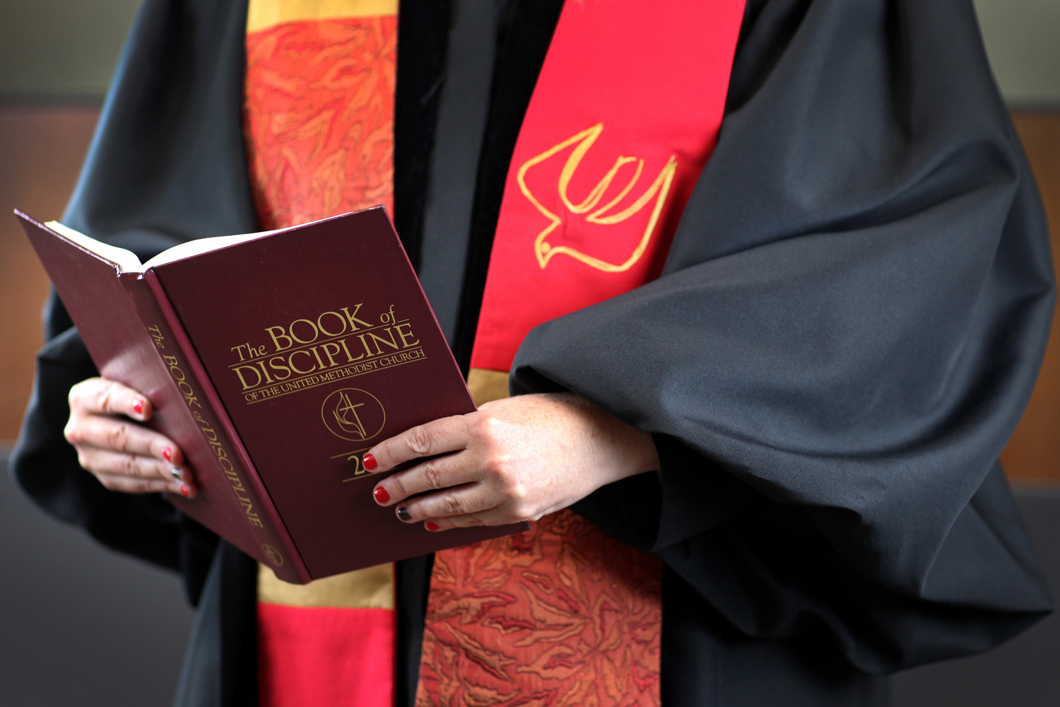 Legislation passed by General Conference becomes part of the Book of Discipline.