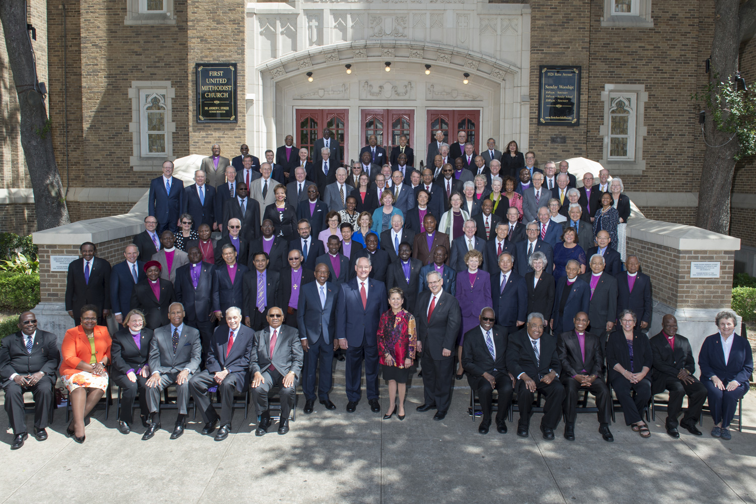 The Council of Bishops consists of all of the bishops of The United Methodist Church.