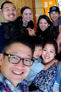 Members of Embrace Church in northern California's Bay Area pose for a group selfie. Image courtesy of Embrace Church.