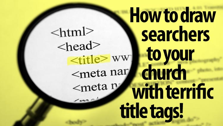 How to write a terrific sermon title and why it matters | United