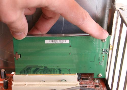 Install a PCI Card