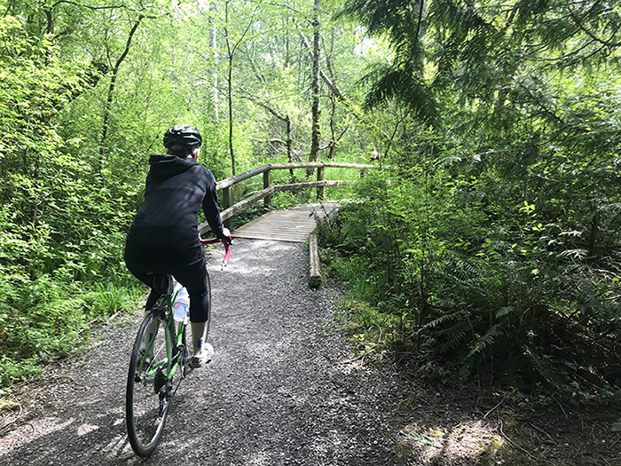 Marine Park to Connelly Creek Trail Ride