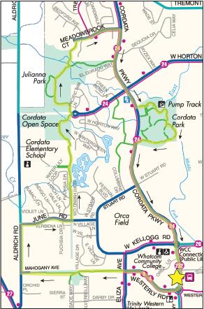 Cordata Park Loop Map