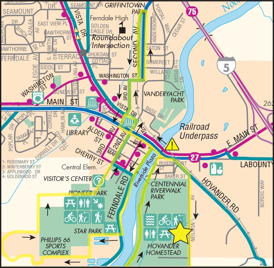 Ferndale Loop Map