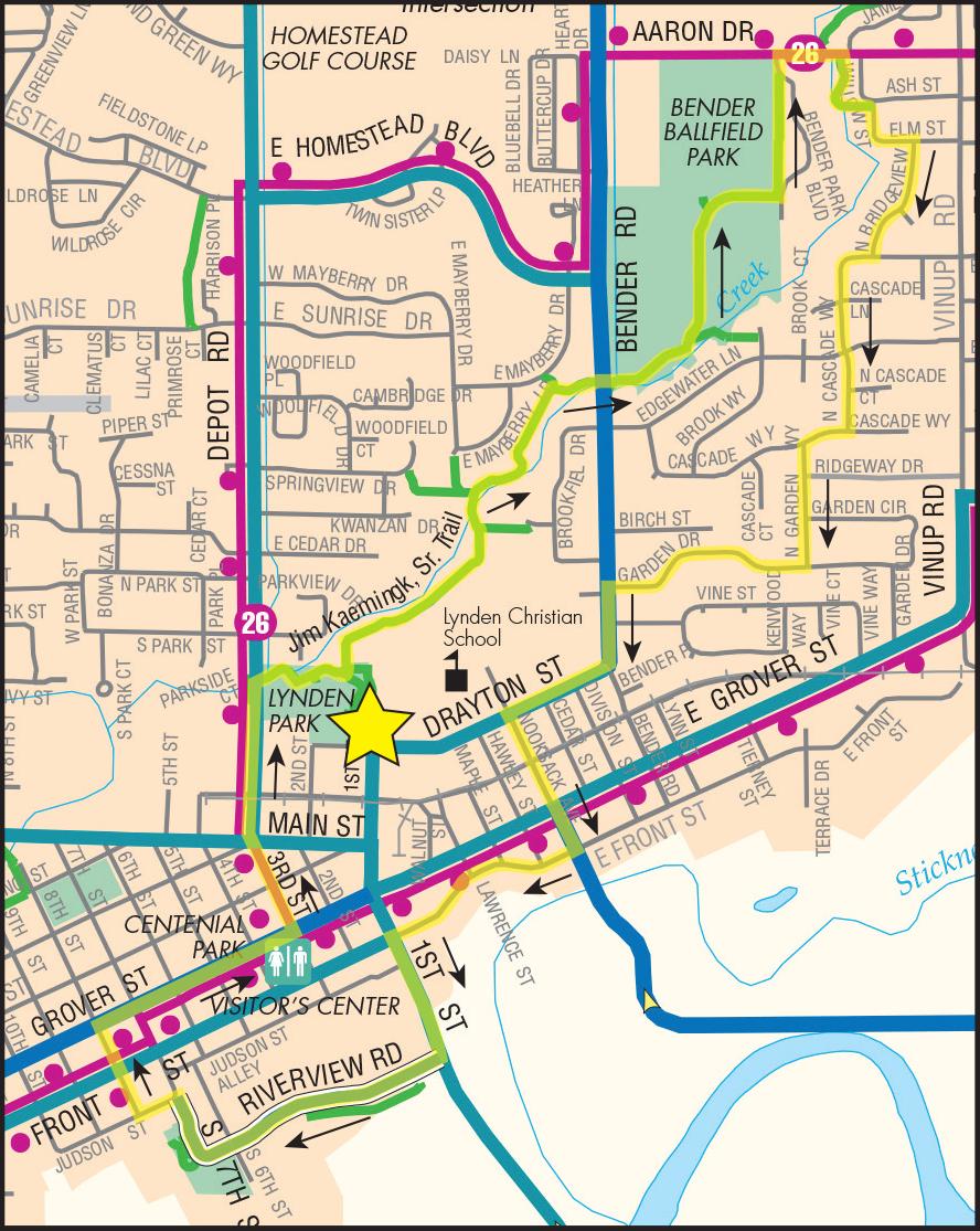 Lynden Loop Map