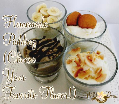 Homemade Pudding