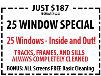 Best Window Cleaning Discount in Town