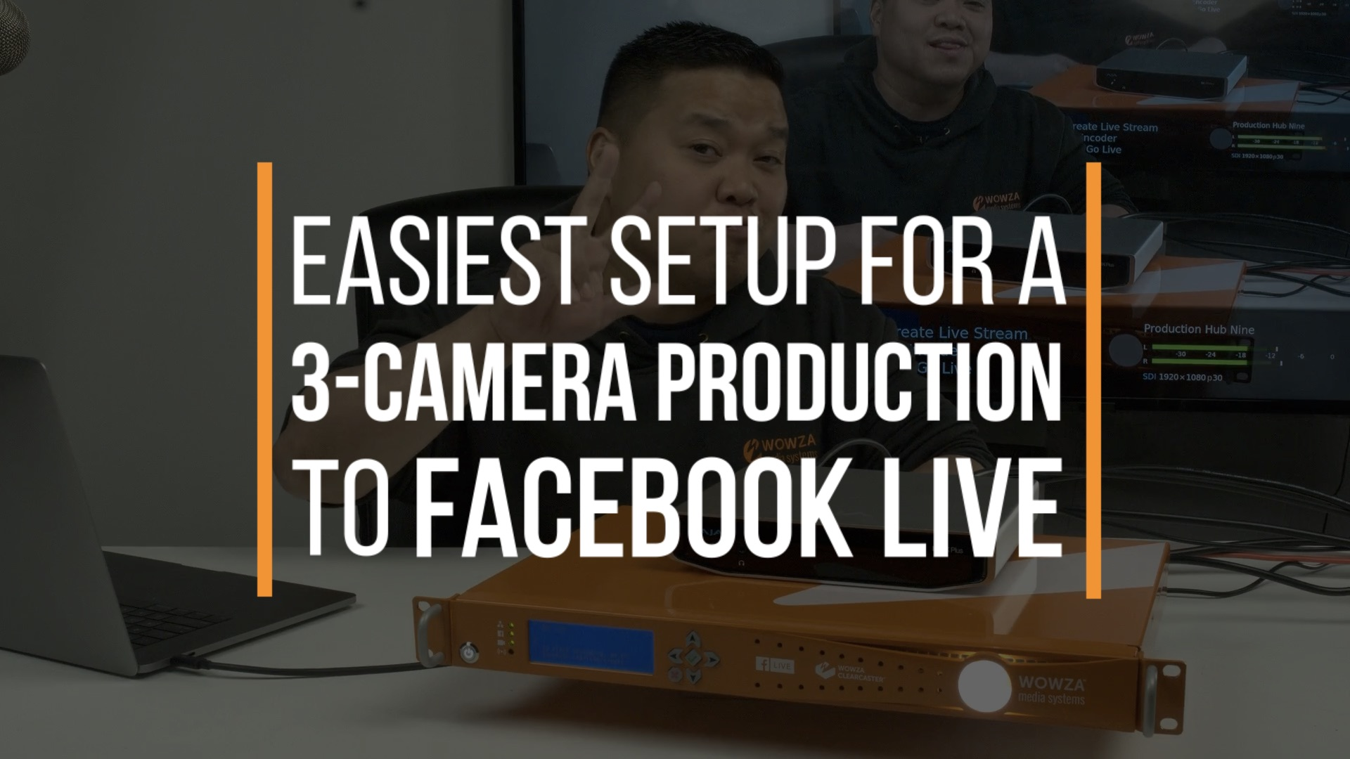 Stream a Multi-Camera Production to Facebook Live | Wowza