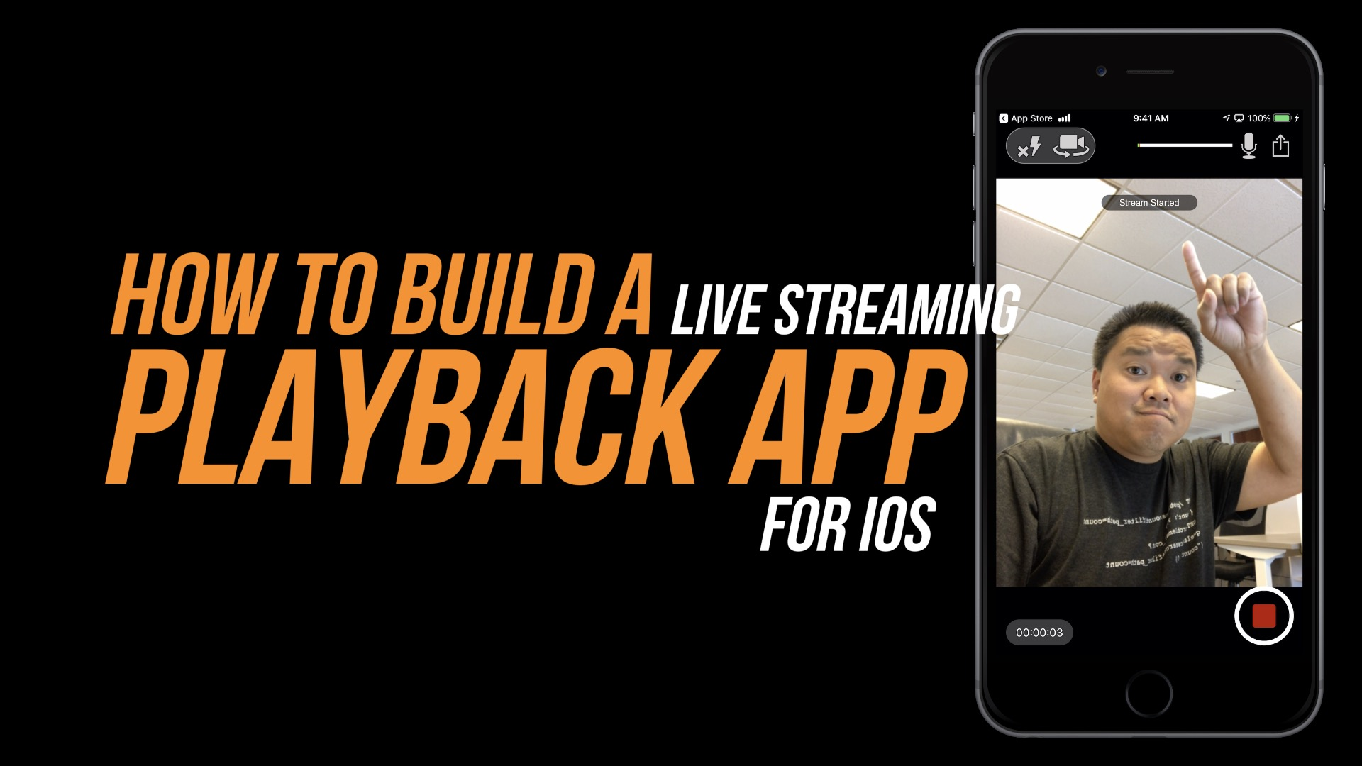 Play a live stream with Wowza GoCoder SDK for iOS