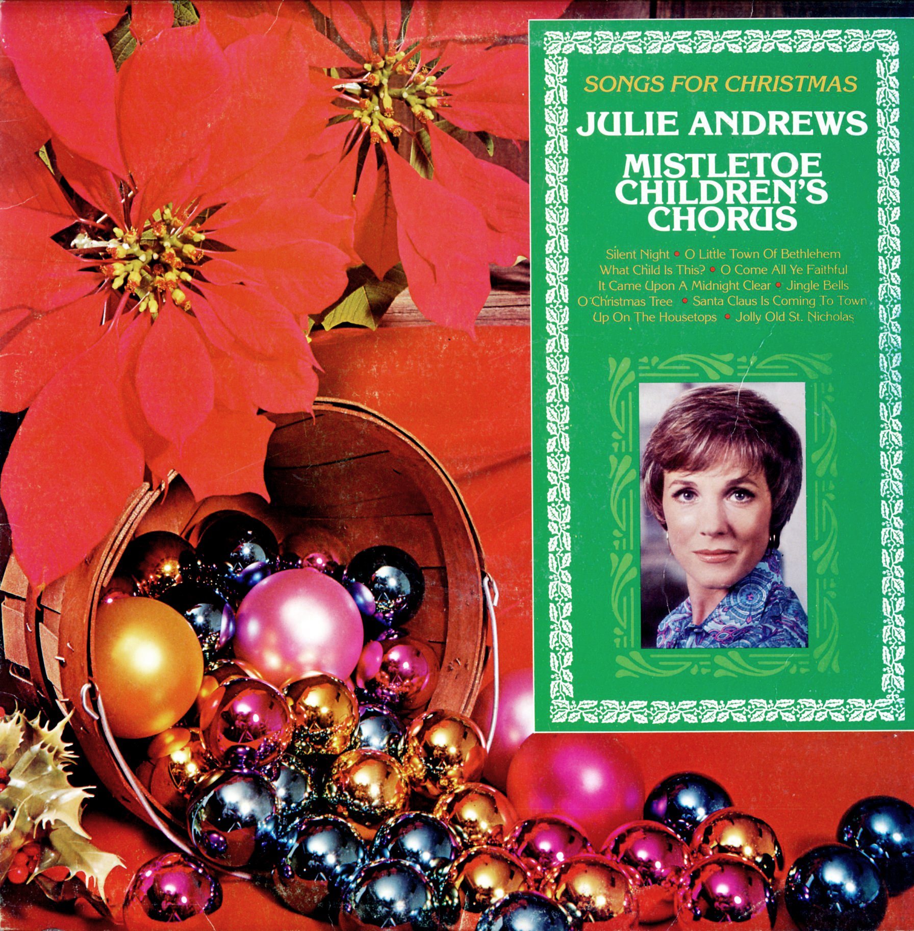 audio archives: 15 Julie Andrews - Songs For Christmas