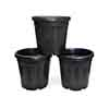 30L Black Cosmo Pot - Pack of 3