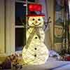 Holly McSnowflake Snowman