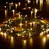 200 Warm White Battery Powered String Lights