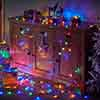 200  Multi Coloured Battery Powered String Lights