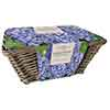 Large Hyacinth Indoor Basket - Blue