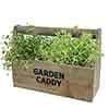Wooden Garden Herb Caddy