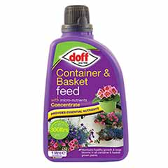 Doff Container & Basket Feed Concentrate