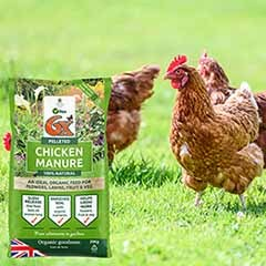 Vitax 6x Pelleted Poultry Manure