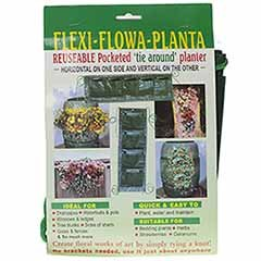 Flexi Flowa Planta - unique Tie on Re-useable Planter