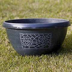 Chengdu Design Metallic Effect Bowls 30cm - set of 3