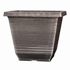 'Torino'Square Planter 20cm (8in) Silver