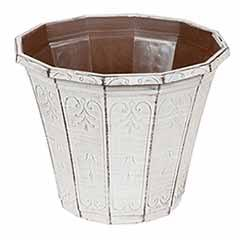 'Calista' Round Planter 30cm (12in) Vintage Rust