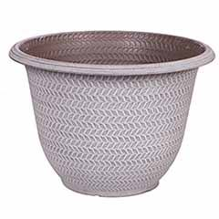 'Parker' Planter 40cm (16in) Washed Taupe