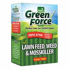 Green Force Lawn Feed, Weed & Mosskiller 3Kg