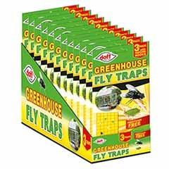 Doff Greenhouse Sticky Traps - 3 pack
