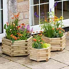 Marford Hexagonal Planter Collection