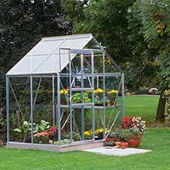 Halls Popular 64 Mill Greenhouse-Horticultural Glass