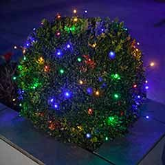 200 Multi Coloured LED String Lights