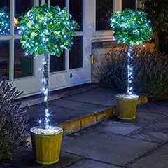 200 Cool White LED String Lights