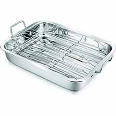 37cm Stainless Steel Roaster and Rack