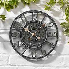 Newby Mechanical Clock - Verdigris 12'