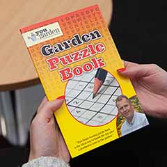 Garden Puzzle Book