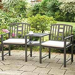 Hartlebury Duo Bench & Table