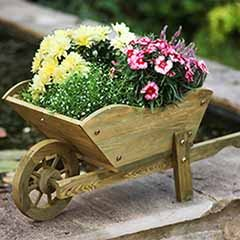Woodland Wheelbarrow Planter