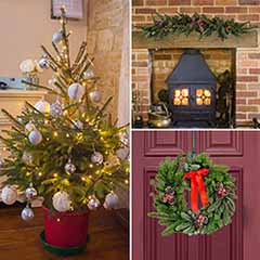 Christmas in a Box - Tree, Wreath & Garland