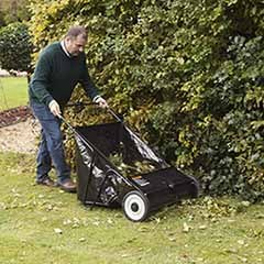The Handy Push Lawn Sweeper