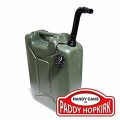 Plastic Jerry Can 20 Litre - Green