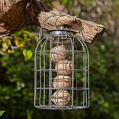 Squirrel Resistant Fat Ball Feeder