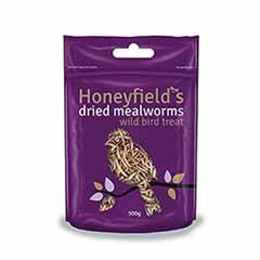 Honeyfields Mealworms 500g