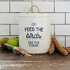 'Feed the Birds'-Bird Food Tin